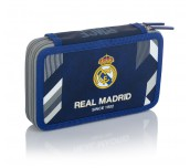 Зареден несесер с 2 ципа 2W RM-183 Real Madrid Color 5