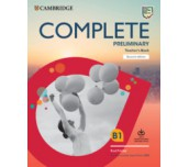 Complete Preliminary Teacher's Book with Downloadable Resource Pack (Class Audio and Teacher's Photocopiable Worksheets) For the Revised Exam from 2020